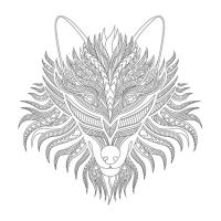 Kurt Desenli Mandala Tablosu - CM-027