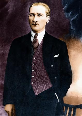 Mustafa Kemal Atatürk Tablosu resim
