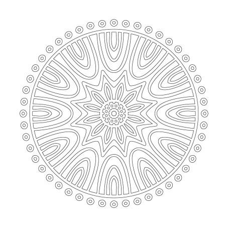 Radyal Desenli Boyanabilir Tablo 0