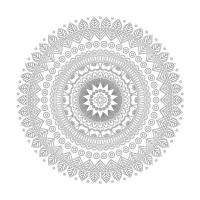 Radyal Desenli Mandala Tablosu - CM-037