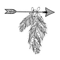 Soyut Desenli Boyanabilir Duvar Tablosu - CM-036