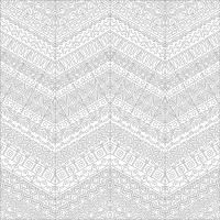 Soyut Desenli Mandala Tablosu - CM-041