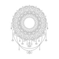 Soyut Desenli Mandala Tablosu - CM-047