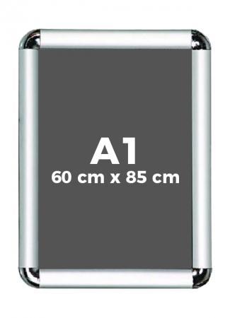 A1 (60 x 85 cm) Açılır Kapanır Alüminyum Çerçeve Rondo Köşe resim