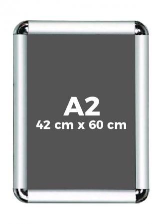 A2 (42 x 60 cm) Açılır Kapanır Alüminyum Çerçeve Rondo Köşe 0