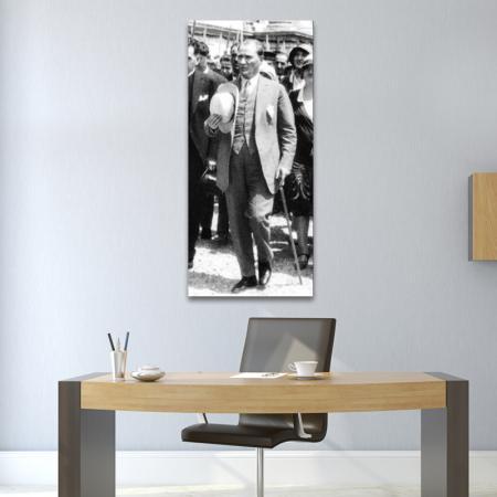 Atatürk Bastonlu Tablosu resim2