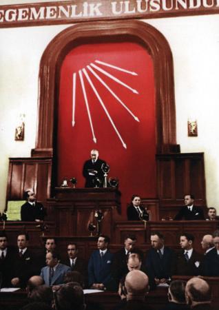 Atatürk CHP Tablosu resim