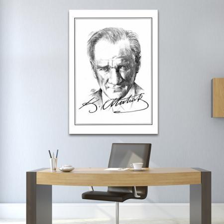 Atatürk İmzalı Tablo  resim2