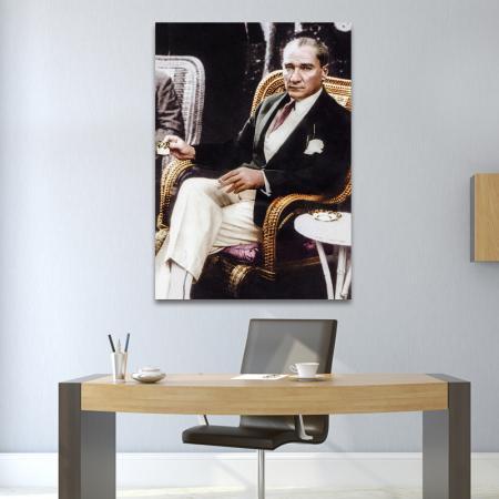 Atatürk Kahve İçerken resim2