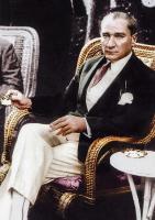 Atatürk Kahve İçerken - ATA-C-076