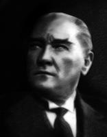 Atatürk Karakalem Tablo - ATA-C-982