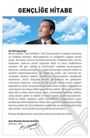 Atatürk Köşesi - Gençliğe Hitabe 0