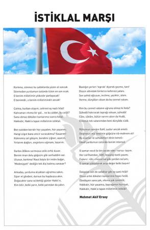 Atatürk Köşesi - İstiklal Marşı resim