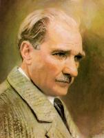 Atatürk Portresi - ATA-C-101