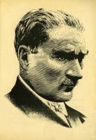 Atatürk Portresi Çizgi Çalışması - ATA-C-991-2