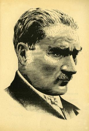 Atatürk Portresi Çizgi Çalışması resim