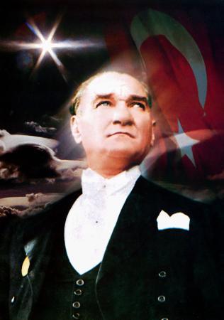 Atatürk Posteri - Kanvas Tablo resim