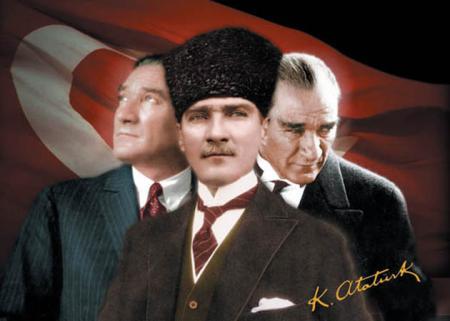 Atatürk Puzzle 3'lü Portre - 500 Parça resim