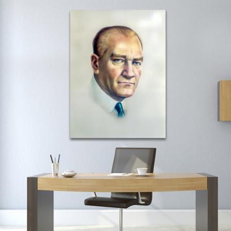 Atatürk Renkli Portre resim2