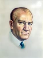 Atatürk Renkli Portre - ATA-C-996