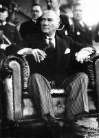 Atatürk Resmi Siyah Beyaz - ATA-C-066