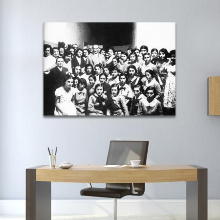 Atatürk Resmi Siyah Beyaz resim2