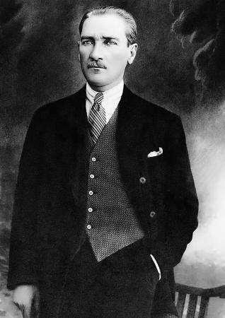 Atatürk Siyah Beyaz resim