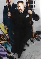 Atatürk Tablosu - Salıncakta Sallanırken - ATA-C-115