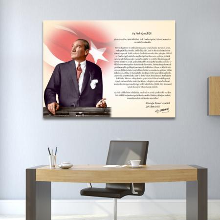 Atatürk'ün Gençliğe Hitabesi - Atatürk Köşesi resim2