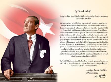 Atatürk'ün Gençliğe Hitabesi - Atatürk Köşesi resim
