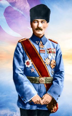 Atatürk Üniformalı resim