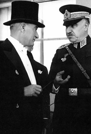 Atatürk ve Fevzi Çakmak resim