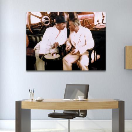Atatürk ve İsmet İnönü resim2