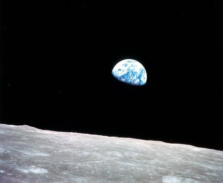 Ay'dan Dünya Görüntüsü resim