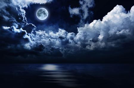 Ay Işığı ve Gece resim