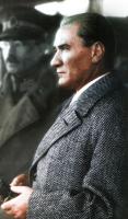 Ayakta Atatürk Tablosu - ATA-C-078