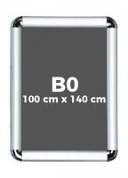 B0 (100 x 140 cm) Açılır Kapanır Alüminyum Çerçeve Rondo Köşe - DAACNG250B0R