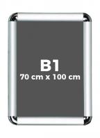 B1 (70 x 100 cm) Açılır Kapanır Alüminyum Çerçeve Rondo Köşe - DAACNG250B1R