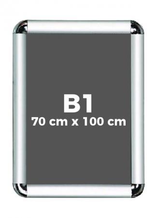 B1 (70 x 100 cm) Açılır Kapanır Alüminyum Çerçeve Rondo Köşe resim
