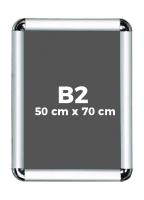 B2 (50 x 70 cm) Açılır Kapanır Alüminyum Çerçeve Rondo Köşe - DAACNG250B2R