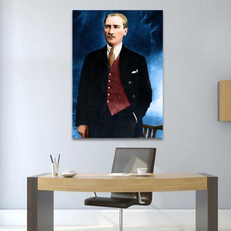 Boydan Atatürk Tablosu resim2