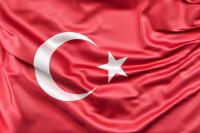 Dalgalı Türk Bayrağı Tablosu - TB-C-993