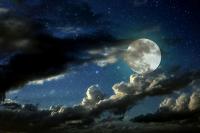 Dolunay ve Bulutlar - UC-001