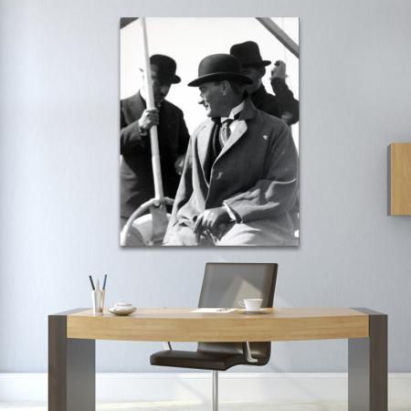 Fötr Şapkalı Atatürk resim2