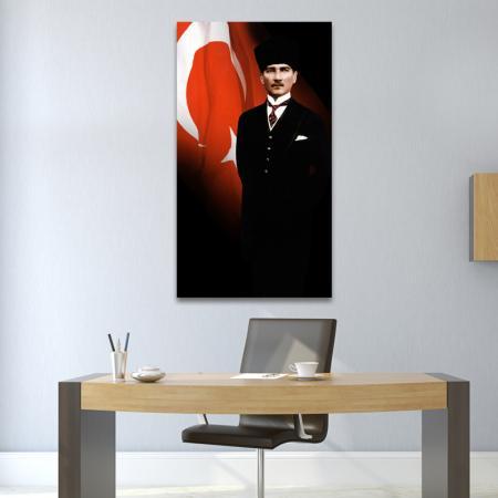 Kalpaklı Atatürk Tablosu resim2