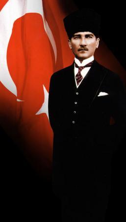 Kalpaklı Atatürk Tablosu resim