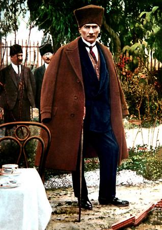 Kalpaklı Atatürk Tablosu 0