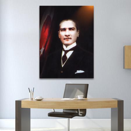 Kanvas Atatürk Tablosu resim2