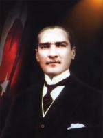 Kanvas Atatürk Tablosu - ATA-C-114