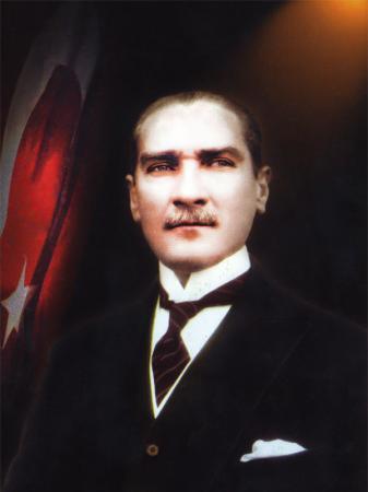 Kanvas Atatürk Tablosu resim
